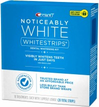 CREST WHITESTRIPS NOTICEABLY WHITE