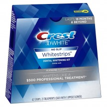 CREST 3D WHITE LUXE SUPREME FLEXFIT WHITESTRIPS