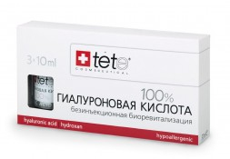 Гиалуроновая кислота 100%  / Pure Hyaluronic acid / Tete Cosmeceutical 3 флакона