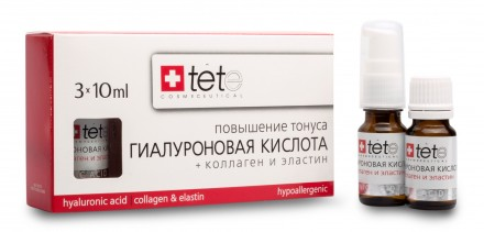 Гиалуроновая кислота - Коллаген и Эластин (Hyaluronic acid - Collagen&Elastin) / Tete Cosmeceutical 3 флакона