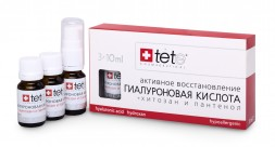 Гиалуроновая кислота - Хитозан / Hyaluronic acid & Hydroxan / Tete Cosmeceutical 3 флакона
